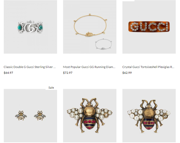 quality gucci replica jewelry wholesale